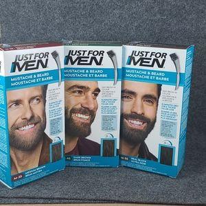 Just For Men- Mustache&beard 5min